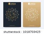 modern vector template for... | Shutterstock .eps vector #1018703425