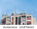 Many Telecommunication Antenna...