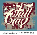 full gas. vector handwritten... | Shutterstock .eps vector #1018709296