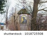 Wooden Pole Chapel In Soce...