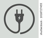 electric plug icon. vector...