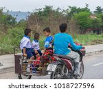 editorial use only  kids going...   Shutterstock . vector #1018727596