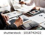 administrator business man... | Shutterstock . vector #1018742422