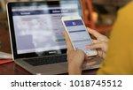 bangkok. thailand. january 31 ... | Shutterstock . vector #1018745512
