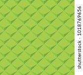 green geometric pattern texture ... | Shutterstock .eps vector #1018769656