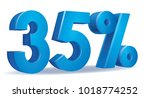 illustration vector of 35... | Shutterstock .eps vector #1018774252