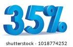 illustration vector of 35... | Shutterstock .eps vector #1018774252
