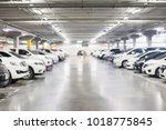 blurred photo of cars in the...   Shutterstock . vector #1018775845