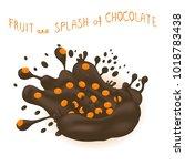 illustration logo ripe berry...   Shutterstock . vector #1018783438