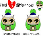 find five differences.... | Shutterstock .eps vector #1018793626