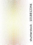 light red  yellow illustration... | Shutterstock . vector #1018812346