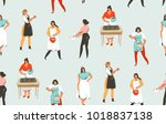 hand drawn vector abstract...   Shutterstock .eps vector #1018837138