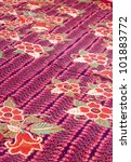beautiful batik patterns that... | Shutterstock . vector #101883772