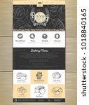 bakery menu concept web site...