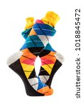 colors men's socks | Shutterstock . vector #1018845472