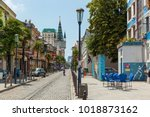 batumi georgia 11 july 2017 ... | Shutterstock . vector #1018873162