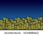 vector cityscape   Shutterstock .eps vector #101888662