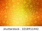 light orange vector layout with ... | Shutterstock .eps vector #1018911442
