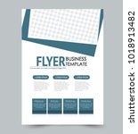 a4 size flyer template.... | Shutterstock .eps vector #1018913482