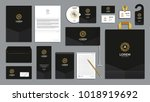 corporate identity branding... | Shutterstock .eps vector #1018919692