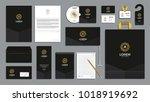 corporate identity branding... | Shutterstock .eps vector #1018919692