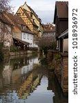colmar  france   january 05 ... | Shutterstock . vector #1018936972