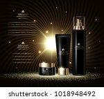 cosmetics luxury beauty series  ... | Shutterstock .eps vector #1018948492