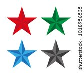 colored stars on a white...