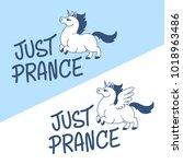 Proud Prancing Pegasus And...