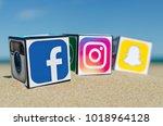 alicante  spain   september 15  ... | Shutterstock . vector #1018964128