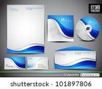 professional corporate identity ... | Shutterstock .eps vector #101897806