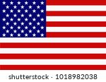 bright background with flag of... | Shutterstock . vector #1018982038