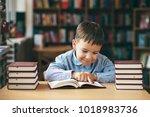 preschool european boy is...