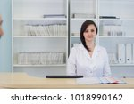 hallway the emergency room and...   Shutterstock . vector #1018990162
