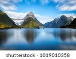 milford sound  new zealand.  ... | Shutterstock . vector #1019010358