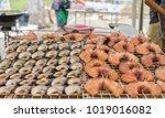 fish drying in the sun.   Shutterstock . vector #1019016082