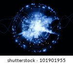 backdrop composed of document... | Shutterstock . vector #101901955