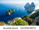 bright scenic view of the... | Shutterstock . vector #1019024872
