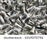 zinc alloy key parts presenting ... | Shutterstock . vector #1019070796