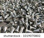 zinc alloy key parts presenting ... | Shutterstock . vector #1019070802