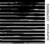 abstract grunge grid polka dot... | Shutterstock . vector #1019083042