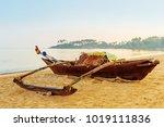 Wooden Fishing Boats At Dawn O...