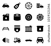 origami style icon set   car... | Shutterstock .eps vector #1019121346