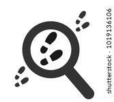 footpath. human shoe footprints....   Shutterstock .eps vector #1019136106