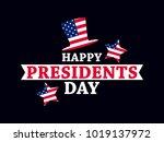happy presidents day. festive... | Shutterstock .eps vector #1019137972