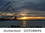 trabucco  trebuchet  trabocco   ... | Shutterstock . vector #1019188696