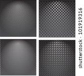 set metal grids. | Shutterstock .eps vector #101919316