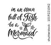in an ocean full fish be a... | Shutterstock .eps vector #1019221042