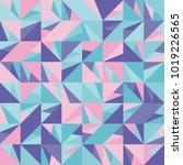 vector seamless pattern. trendy ... | Shutterstock .eps vector #1019226565