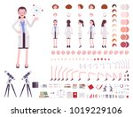 scientist character creation... | Shutterstock .eps vector #1019229106